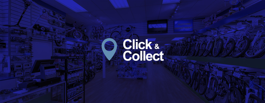 Click & Collect at Stows Cycles