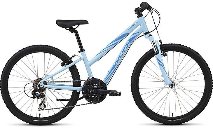 Specialized Hotrock 24 21 Speed Girls Bike Blue 163 202 50