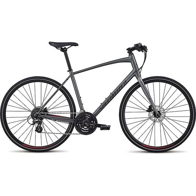 5461b27dd0e Specialized Mens Sirrus Alloy Disc 2019 Hybrid bike Charcoal £525.00