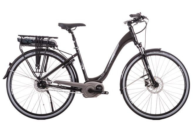 Raleigh Captus Hub Gear Step Through 2018 Electric bike Black