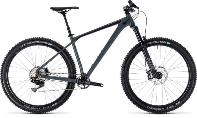 Cube Reaction TM 2018 Mountain bike Grey/Black
