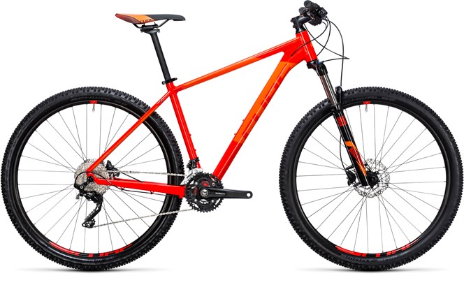 Cube Attention 2017 Mountain bike Red/Flash Orange