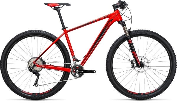 Cube LTD Race 2017 Mountain bike Red/Black