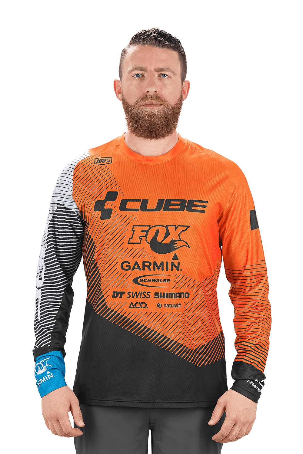 a39515d2c 2019 Cube Edge Round-Neck Mens Long Sleeve Jersey in Action Team £49.95