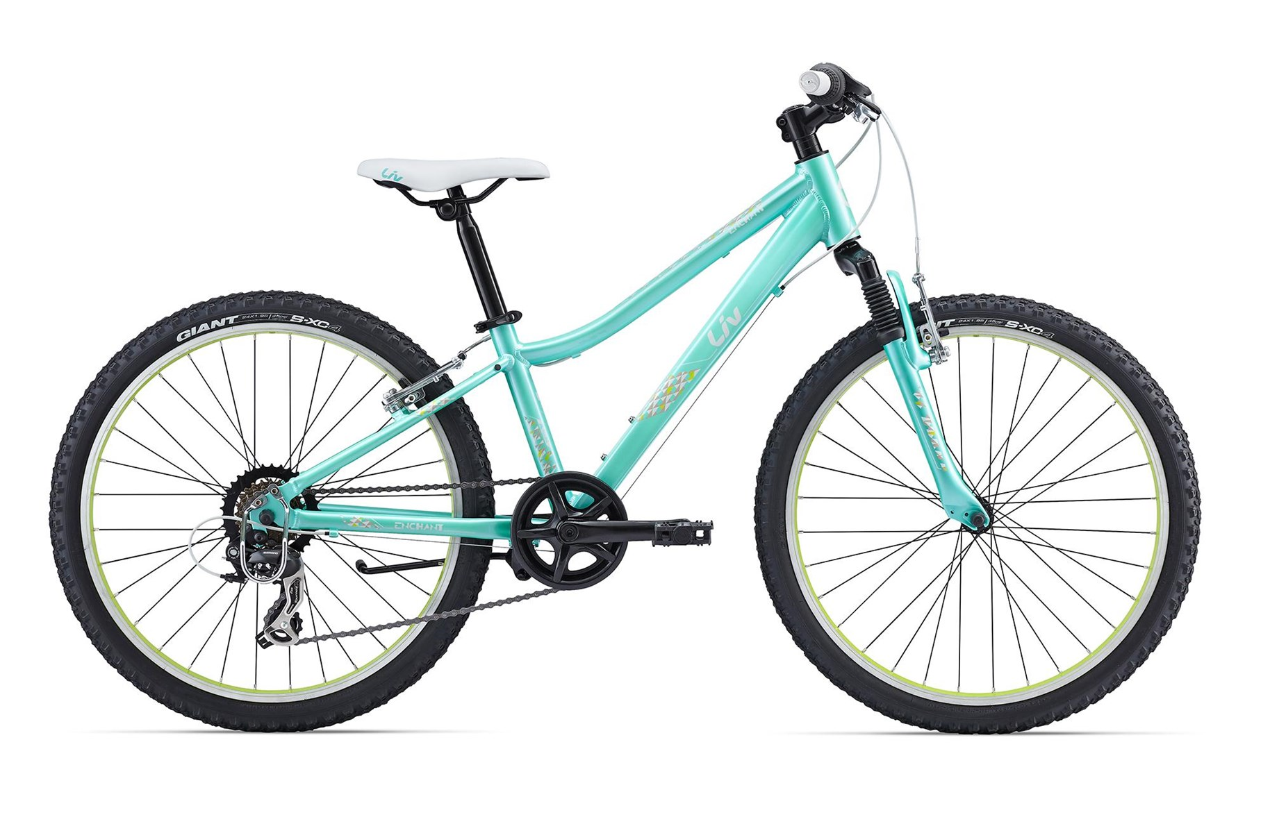 Giant Enchant 24 Inch 2016 Bike Green £249.00