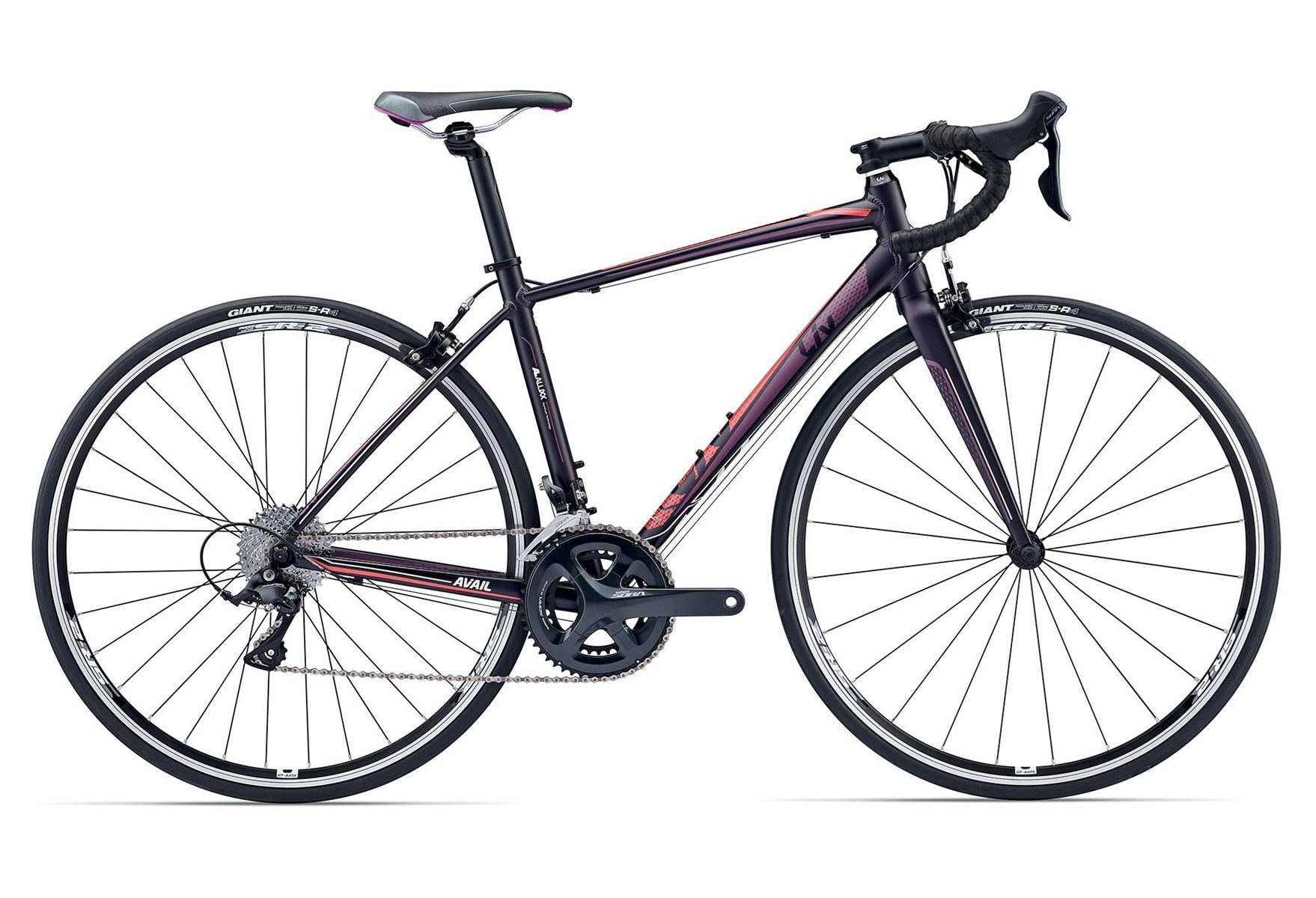 Giant Liv Avail 1 2017 Womens Road Bike Purple Red 616 00