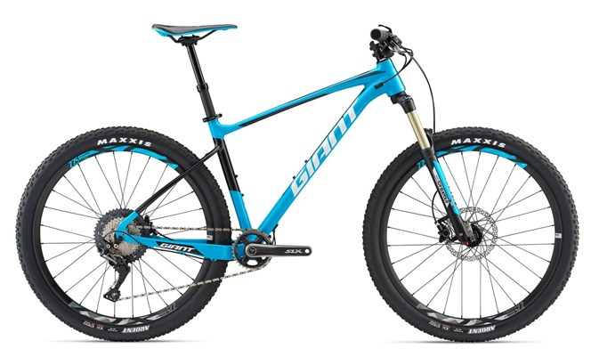 Giant Fathom 1 650b 2018 Mountain bike Blue