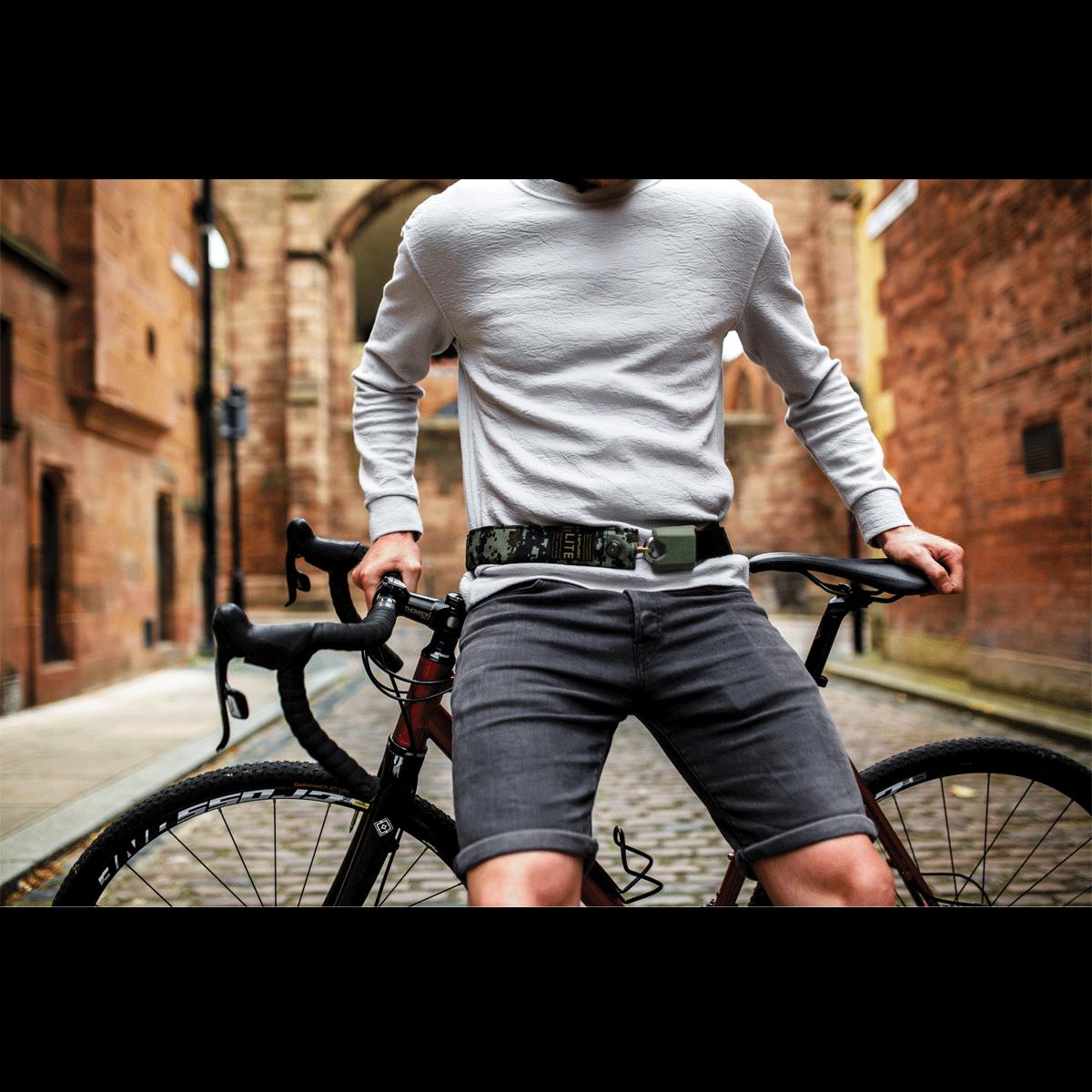 Bicycle Lock Hiplok Chain Lite Key 6mm x 75cm Black