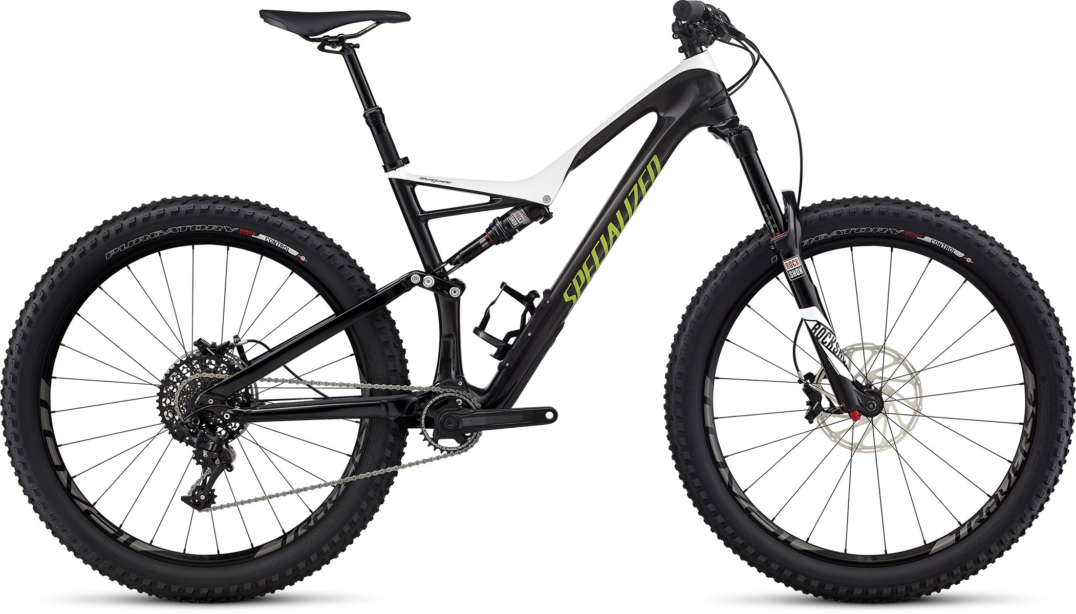 Specialized Stumpjumper FSR Expert Carbon 6 Fattie 2017 White/car ...